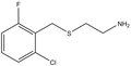 2-(2-Chloro-6-fluorobenzylthio)ethylamine 1g