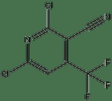 3-Cyano-2,6-dichloro-4-(trifluoromethyl)pyridine 1g