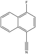1-Cyano-4-fluoronaphthalene 1g