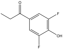 3',5'-Difluoro-4'-hydroxypropiophenone 1g