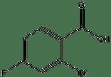 2-Bromo-4-fluorobenzoic acid 5g