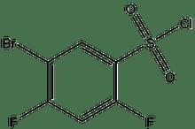 5-Bromo-2,4-difluorobenzenesulfonyl chloride 1g