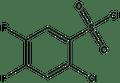 2-Chloro-4,5-difluorobenzenesulfonyl chloride 1g