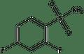 2,4-Difluorobenzenesulfonamide 1g