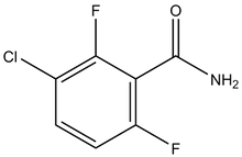 3-Chloro-2,6-difluorobenzamide 1g