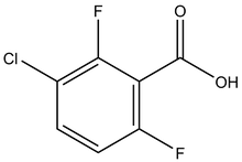 3-Chloro-2,6-difluorobenzoic acid 1g