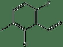 2-Chloro-6-fluoro-3-methylbenzaldehyde 1g