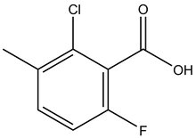 2-Chloro-6-fluoro-3-methylbenzoic acid 1g