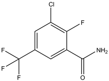 3-Chloro-2-fluoro-5-(trifluoromethyl)benzamide 1g