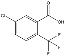 5-Chloro-2-(trifluoromethyl)benzoic acid 1g