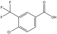 4-Chloro-3-(trifluoromethyl)benzoic acid 1g