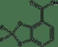 2,2-Difluoro-1,3-benzodioxole-4-carboxylic acid 1g