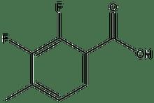 2,3-Difluoro-4-methylbenzoic acid 1g