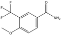 4-Methoxy-3-(trifluoromethyl)benzamide 1g