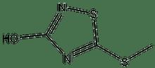 3-Hydroxy-5-methylmercapto-1,2,4-thiadiazole 1g