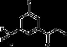3'-Fluoro-5'-(trifluoromethyl)propiophenone 1g