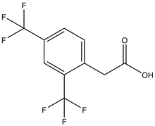 2,4-Bis(trifluoromethyl)phenylacetic acid 1g