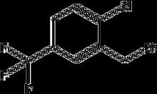 2-Chloro-5-(trifluoromethyl)benzyl bromide 1g