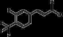 3-Fluoro-4-(trifluoromethyl)cinnamic acid 1g