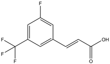 3-Fluoro-5-(trifluoromethyl)cinnamic acid 1g