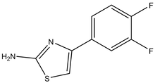 2-Amino-4-(3,4-difluorophenyl)thiazole 1g