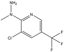 1-[3-Chloro-5-(trifluoromethyl)pyrid-2-yl]-1-methylhydrazine 100mg