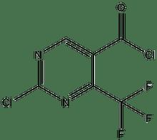 2-Chloro-4-(trifluoromethyl)pyrimidine-5-carbonyl chloride 1g