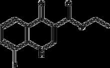 Ethyl 1,4-dihydro-8-fluoro-4-oxoquinoline-3-carboxylate 1g