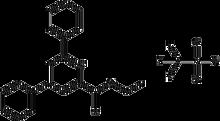 Ethyl 4,6-diphenylpyryliumtrifluoromethane-sulfonate-2-carboxylate 1g