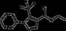 Ethyl 2-phenyl-3-(trifluoromethyl)pyrazole-4-carboxylate 1g