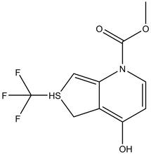 Methyl 4-hydroxy-6-(trifluoromethyl)thieno[3,4-b]-pyridine-1-carboxylate 1g
