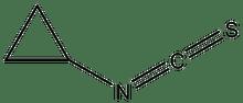 Cyclopropyl isothiocyanate 1g