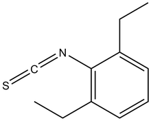 2,6-Diethylphenyl isothiocyanate 5g