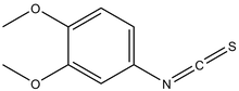 3,4-Dimethoxyphenyl isothiocyanate 5g