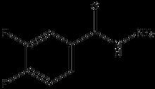 3,4-Difluorobenzoic acid hydrazide 1g