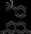 7-Hydroxy-4-(3-trifluoromethylphenyl)coumarin 1g