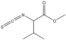 Methyl L-2-isothiocyanato-3-methylbutyrate 1g