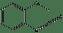 2-(Methylthio)phenyl isothiocyanate 1g
