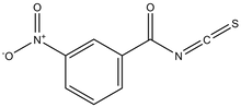 3-Nitrobenzoyl isothiocyanate 1g