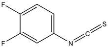 3,4-Difluorophenyl isothiocyanate 1g