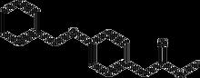 4-Benzyloxyphenylacetic acid methyl ester 1g