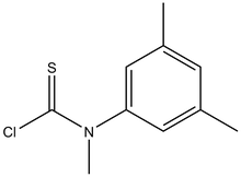 N-(3,5-Dimethylphenyl)-N-methyl-thiocarbamoyl chloride 1g