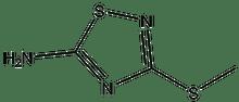 5-Amino-3-methylthio-1,2,4-thiadiazole 1g