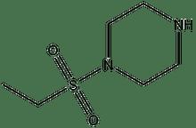 1-Ethylsulfonyl-piperazine 1g
