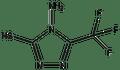 4-Amino-5-trifluoromethyl-4H-[1,2,4]-triazole-3-thiol 1g