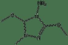 3,5-Bismethoxymethyl-1,2,4-triazol-4-ylamine 1g