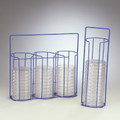 Petri Dish Carrying and Dispensing Racks