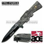 "AR-15 Series "" Army "" Spring Assisted Folding Knife - Digital Camo"