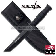 """SURVIVOR HK-1023TN 7.5"""" TANTO EDGE SURVIVAL KNIFE"""