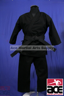 Heavy Weight Karate Uniform 12 oz, Black